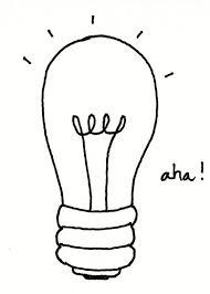 lightbulp moment